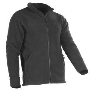 UNDER ARMOUR | black fleece lining zip up jacket